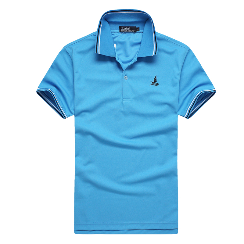 FANNAI Polo Shirt Collar Sport Jerseys T Shirts Golf Training Exercise Sports Short Sleeve Quick Dry Solid Tops Tees Golf Wear