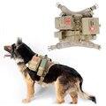 2016 Coletes À Prova de Cão Cão Roupas de Carga Ao Ar Livre Militar Do Exército Tático SWAT Tactical Molle Do Treinamento Do Cão Arnês Colete Arnês