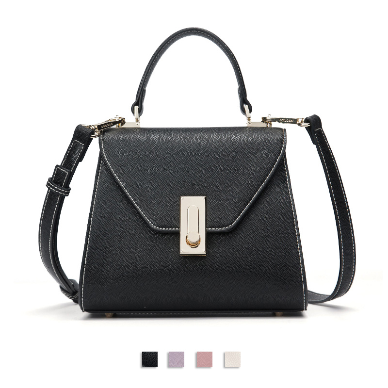 DOODOO Women's Handbags Shoulder Handbag High Quality Luxury Brand Designer Bags Ladies Leather Shoulder Crossbody Hand Bags