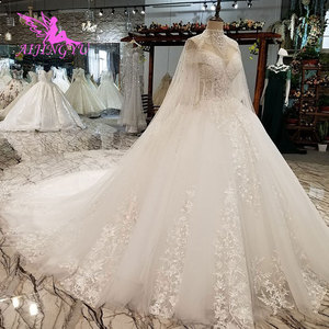 Image 4 - AIJINGYU Vintage Brush Suzhou Gown Vintage Suits For The Bride Simple With Sleeves Indian Gowns Long Sleeve Wedding Dresses