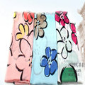 Warm Spring Fashion Women Cartoon Flowers Long Shawl Winter New Floral Print Scarf Girl Colorful Chevron Raw Scarves