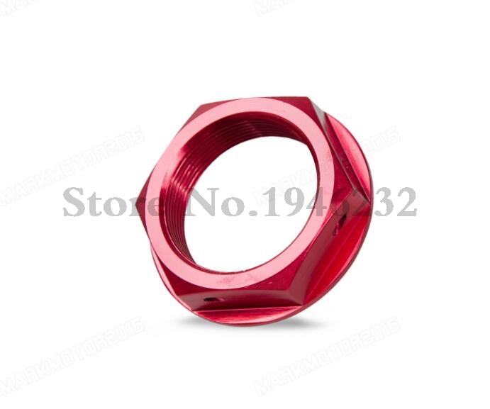 NICECNC Steering Stem Top Yoke Nut For Honda CR125R CR250R 2001-2007 CRF250R CRF250X CRF450R CRF450X 2005-2016 накладки на пороги honda cr v ii 2001 2007 carbon