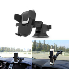 цена на ZUCZUG Windshield Mount Car Phone Holder in Car For Samsung S9 S8 Plus 360 Rotation Car Holder For iPhone X Phone Stand Support