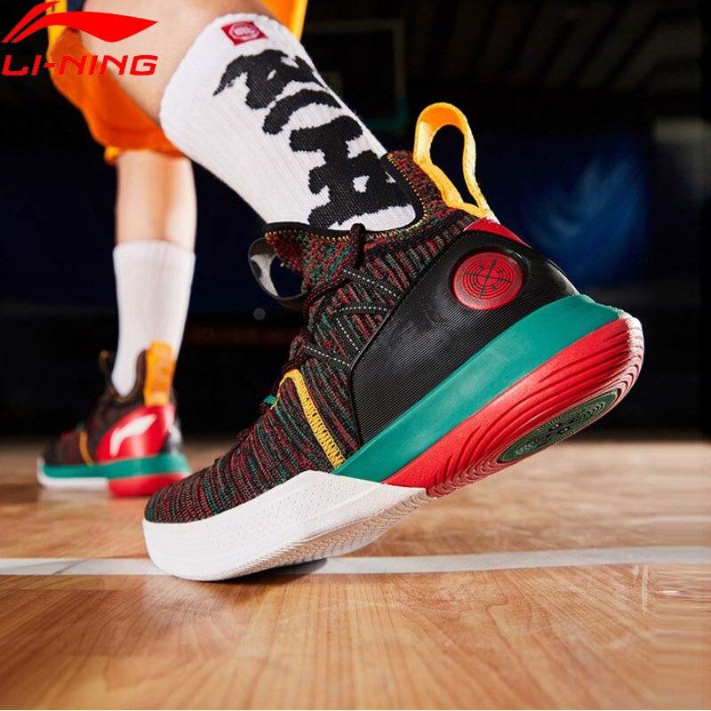 Li-Ning Men AIT VI Wade Series Professional Basketball Shoes Mono Yarn Cushion LiNing CLOUD Sport Shoes Sneakers ABAP005  XYL226 Сникеры