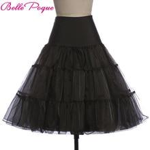 Tutu Saia swing Rockabilly Silps fluffy pettiskirt Petticoat Underskirt Crinolina para o Casamento de Noiva Vintage Retro Mulheres Vestido