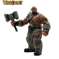 Durotan Orgrim WOW anime action figure toys collection toy movie model doll toy new fashion Game characters Free shipping KB0708