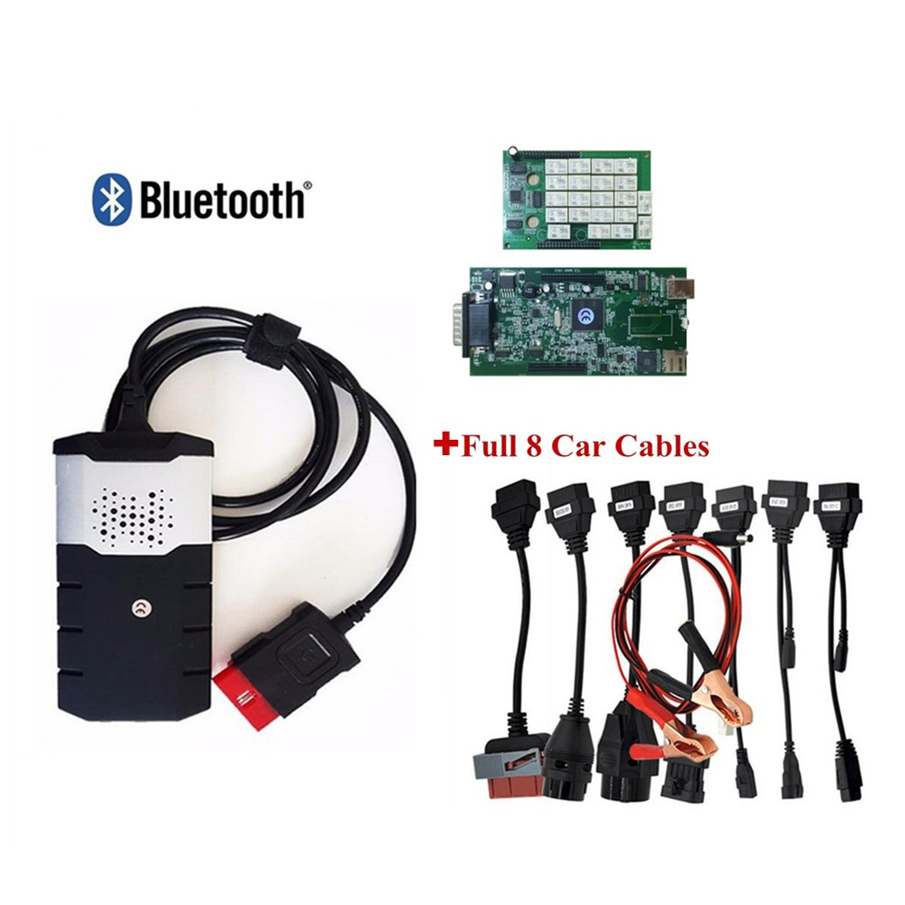 New vci with Bluetooth VD DS150E CDP 2015 R3 keygen for delphis cars trucks OBD2 diagnostic