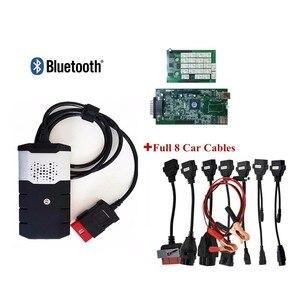 Novo vci com bluetooth vd ds150e cdp 2015. r3 keygen para carros delphis caminhões obd2 diagnóstico tcs cdp pro plus + 8 pces cabo de carro