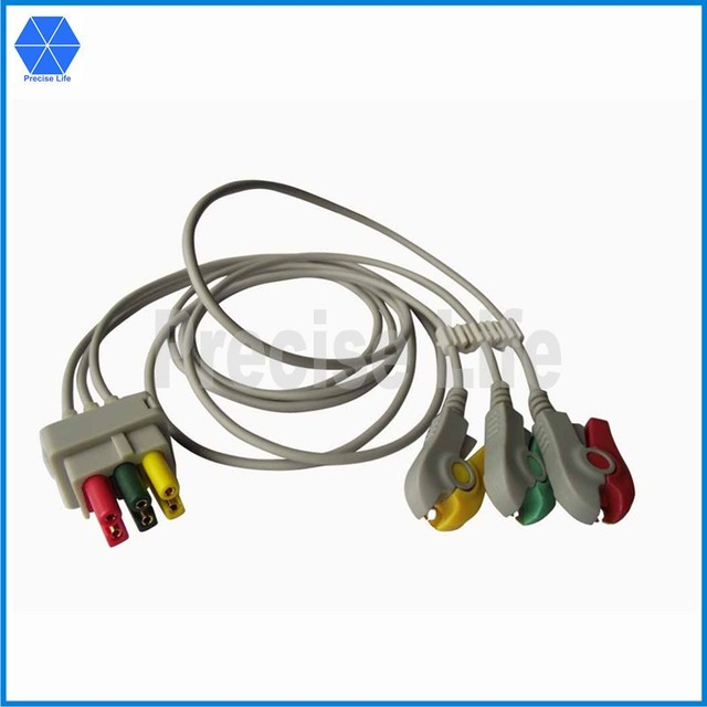 Compatible replacement 107329 ECG cable ECG lead wire set for ...