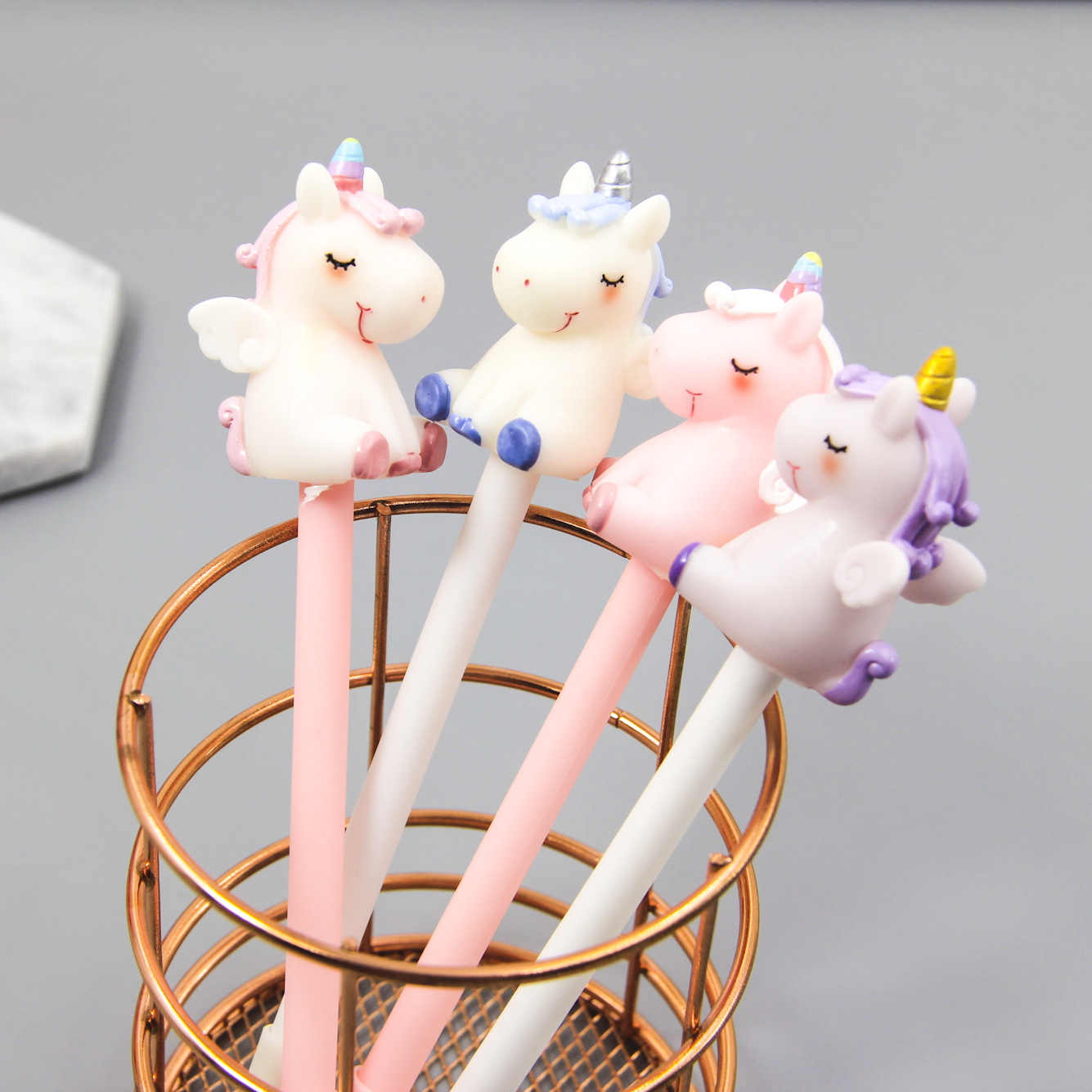Cute Sweet Dream Unicorn Signature Gel Pen Escolar Papelaria School Office Supply Promotional Gift