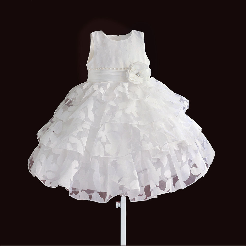 christmas girls dress leaf floral princess kids dresses for wedding party lace layered children clothes size 1-6 baby girls white dresses for wedding and party wear girl princess dress kids lace clothes children costume age 3 4 5 6 7 8 9 10