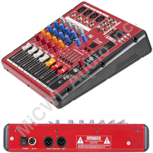 Professional Studio Audio Microphone Mic Mixer System Mixer Mixing Console Karaoke Bluetooth USB PC Record 48v Live Mixer a4 multi purpose audio mixer with bluetooth record 4 channels input mic line insert usb playback sound card small mixing console