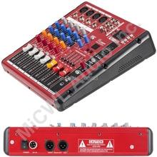 лучшая цена Professional Studio Audio Microphone Mic Mixer System Mixer Mixing Console Karaoke Bluetooth USB PC Record 48v Live Mixer