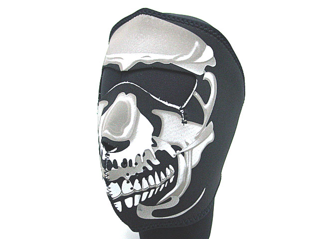 Tactical Airsoft Paintball Navy Seal Army Skull Neoprene Full Face Protector Mask Hunting Caps