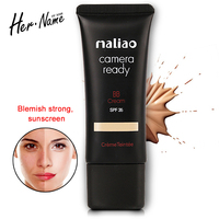 Her Name Bb Cream Sun Block Spf30 Makeup Concealer Korea Brands Cosmetic Base Correction Foundation Creme