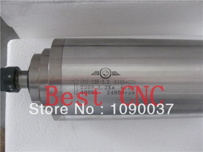 Kiváló minőségű ER-20 105mm 3.2kw cnc orsómotor 3.2kw CNC - Szerszámgépek és tartozékok - Fénykép 2
