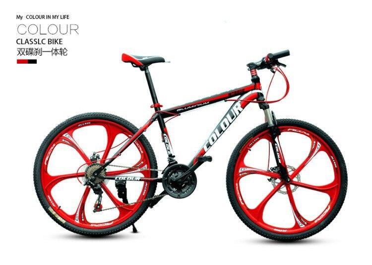 Russia only 26 inch21 speed one piece wheel mountain bike Bicycle downhill Road bike Free Shipping автомобильный держатель wiiix kds 2u для планшетов черный