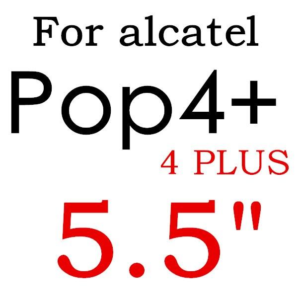 Экран протектор Закаленное Стекло для Alcatel One Touch Pop 3 5,5 5025D Idol 3 POP4 5051 4S Pixi 4 5,0 5010 Pixi3 4,5 5019D 5017 - Цвет: For POP4 PLUS