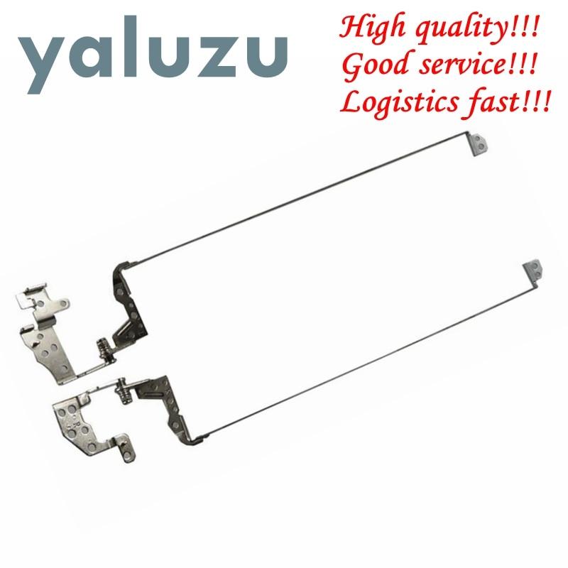 YALUZU New Laptop Hinge For HP Pavilion 15-D 250 G2 255 G2 15-D000 15-A 15-D 15-D000 Screen Lcd Hinges Bracket 747120-001 L & R