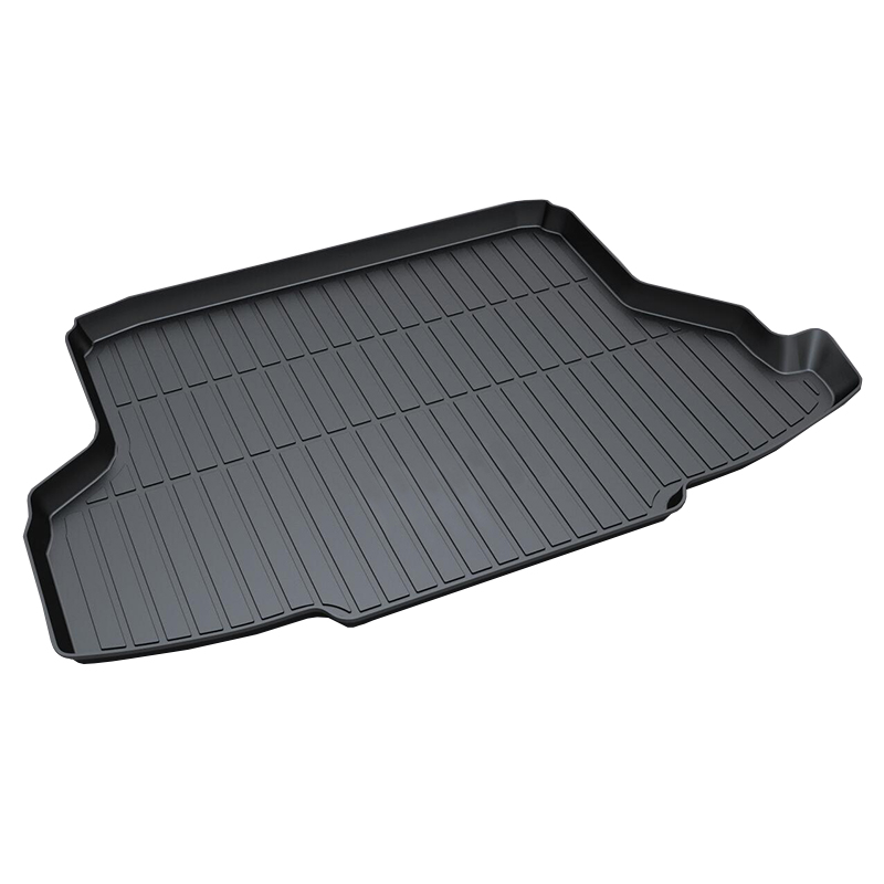 3d Trunk Tray Mat for Honda GREIZ,2015-2017,Premium Waterproof Anti-Slip Car in Heavy Duty,Black rear trunk liner cargo floor tray for toyota ysx213 toyota runner premium waterproof anti slip car trunk mat in heavy duty black