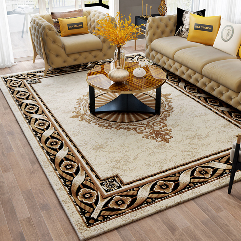 US $290.87 40% OFF|Nordic Soft Luxury Carpets For Living Room Bedroom  Bedside Rugs Home Carpet Delicate Area Rug Study Floor Mat Modern Design-in  ...