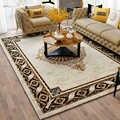 Nordic Soft Luxury Carpets For Living Room Bedroom Bedside Rugs Home Carpet Delicate Area Rug Study Floor Mat Modern Design