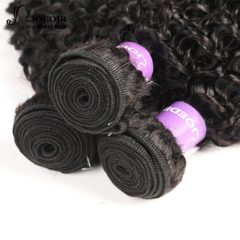 Joedir предварительно цветные странный вьющиеся волосы Малайзии пучки волос плетение не Реми Пряди человеческих волос для наращивания 8 -26 дю...