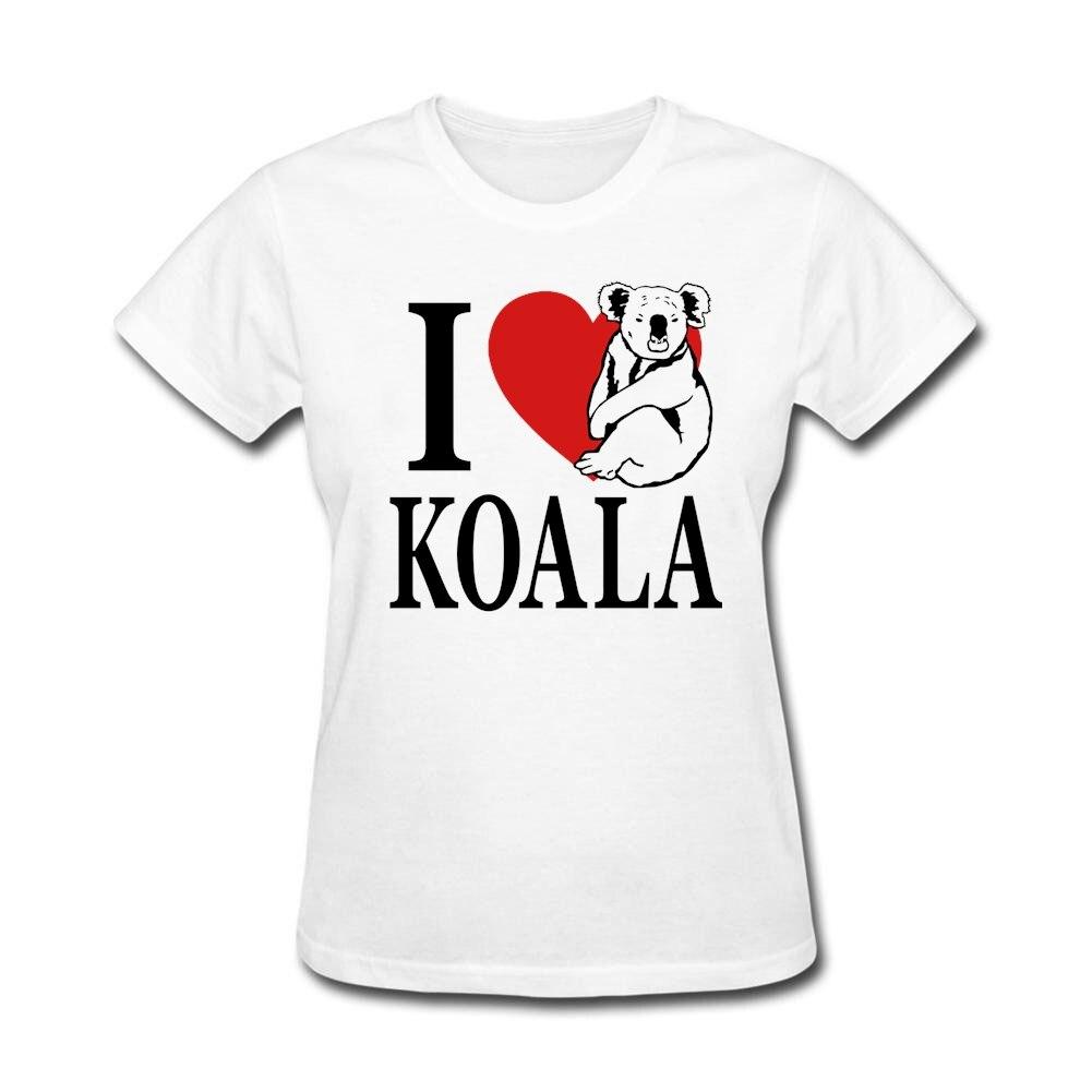 I Love Koala Womens Slogan T Shirts Girlfriend's t shirt ...