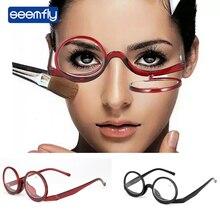 Seemfly, nuevo maquillaje, gafas de lectura, gafas renovadas para padres, ancianos, gafas de hipermetropía, aumento presbiópico portátil