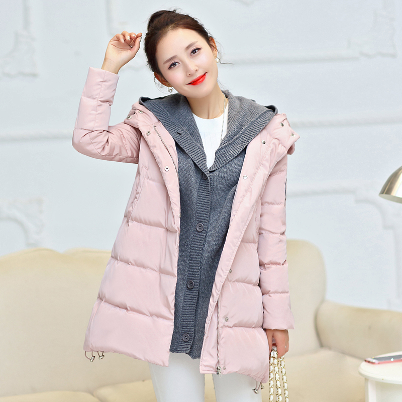 Jacket pregnant women  2018 maternity dress winter fashion women's clothing coat large size  long cotton clothes for pregnancy pregnant women long nightdress women sleep nightshirt winter flannel thickening long nightgown maternity