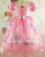 Free Shipping Ariel Princess Costume Ballet Princess Dress Fairy Tale Dress Party Festival Halloween