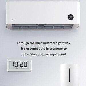 Image 3 - NEUE Xiaomi Mijia BT 4,0 Wireless Smart Elektrische Digitale uhr Indoor Hygrometer Thermometer E tinte Temperatur Mess Werkzeuge