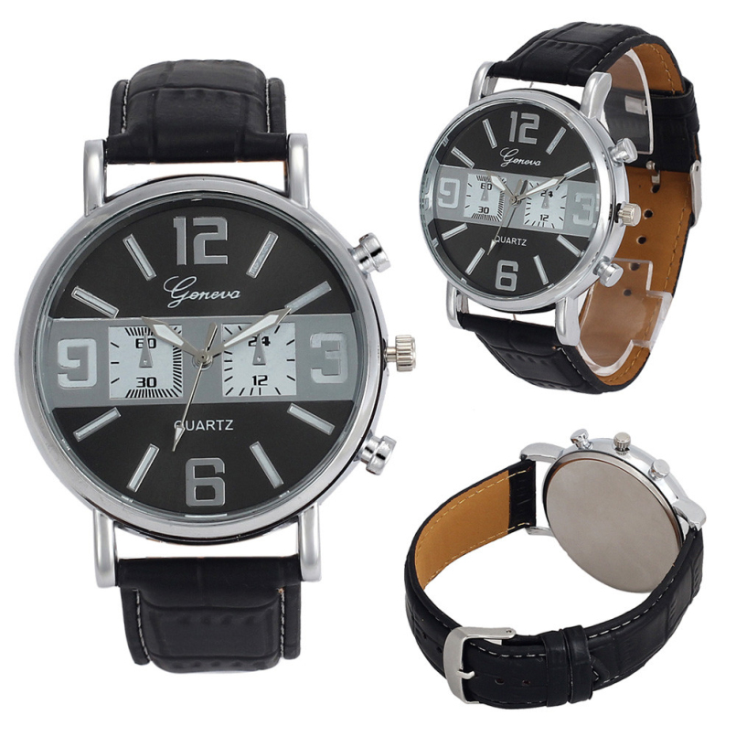 Excellent Quality Mens Watches Top Brand Luxury Quartz Watch Fashion Casual Business Watch Male Quartz-Watch Relogio Masculino