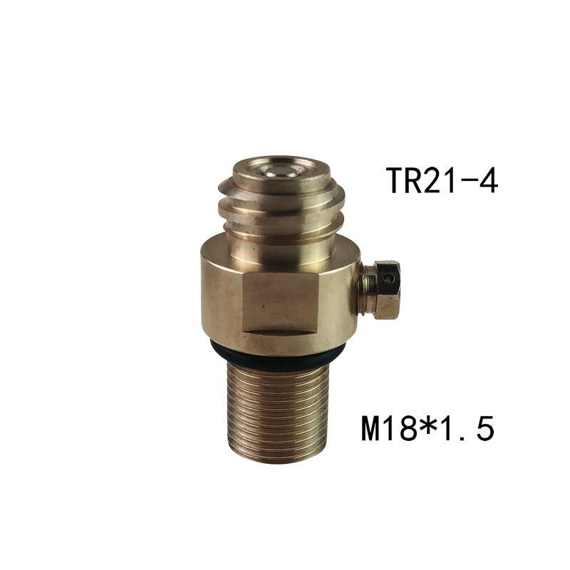 M18x1.5 Thread Soda Stream tank Maker Valve Adapter Refill