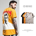 FORGIVENESS 2017 spring and summer new wave of men's Justin Bieber concert portrait printing men's short-sleeved T shirt