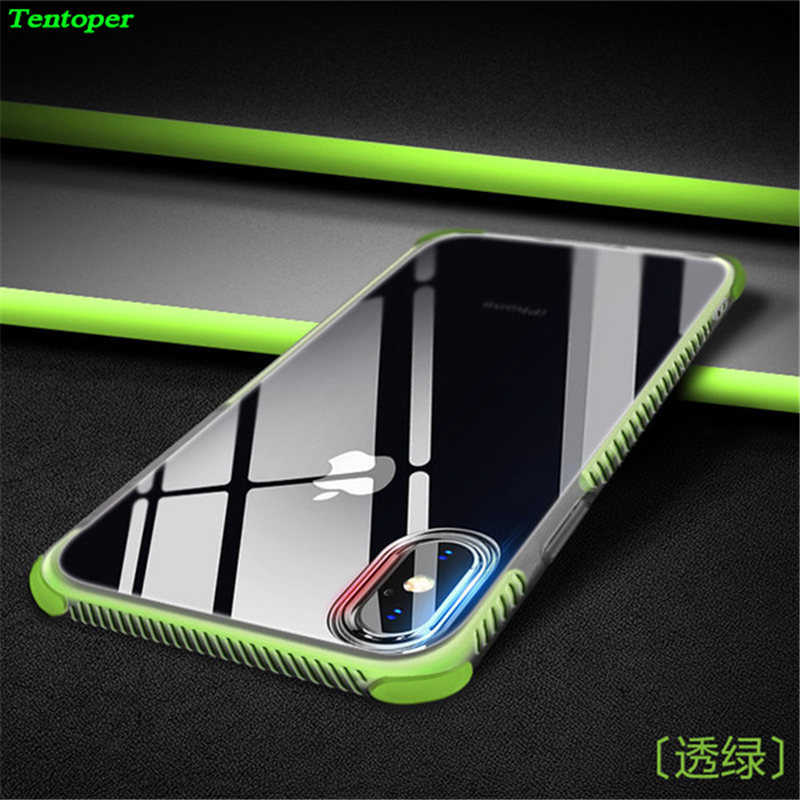 Anti-knock Silicon Case For Samsung S8 S9 Plus A8 2018 Heavy Duty Protection Soft TPU Back Cover For iphone X 8 7 6 6s 5 SE Case