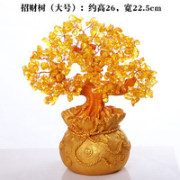 garden Household decoration cash tree rich tree to attract money sitting room liquor cabinet handicraft opening statue