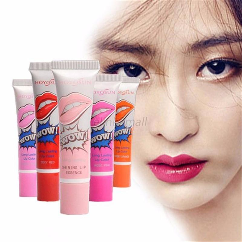 Women Lip Gloss Girls Waterproof TATTOO Meguc Color Peel Mask Tint Pack Long Lasting Makeup Lips