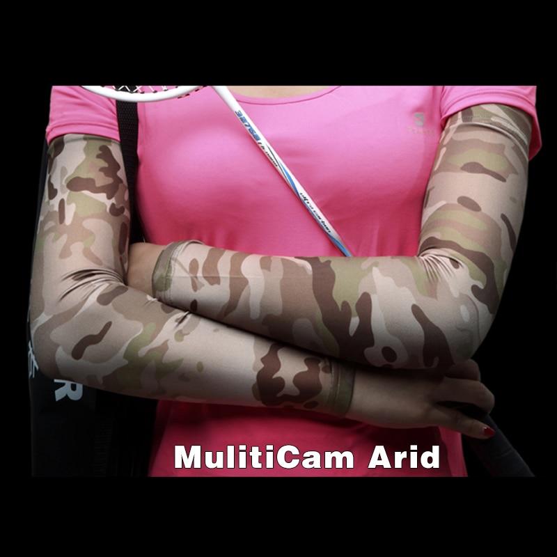 Prix pour Chef de guerre Élastique Camo Bras Manches Vélo Bras Couverture Emerson Respirant Protection Solaire Extérieure Vélo Conduite Équitation XT-19 Multicam