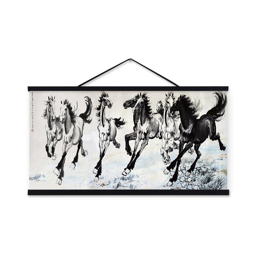 Achetez en gros c l bre cheval affiches en ligne des for Arts martiaux chinois liste