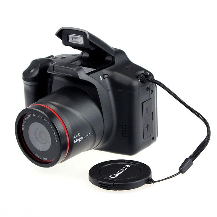 "karue 2017 New Digital SLR shape Camera Lens 2.8"" 720P Switching Value Digital Cameras 12MP Resolution 4x Digital Camera"