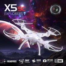 Original SYMA X5SC RC Drones 2.4G 6-Axis Quadrocopter Dron With Camera Headless Mode Helicopters RTF Quadrocopter