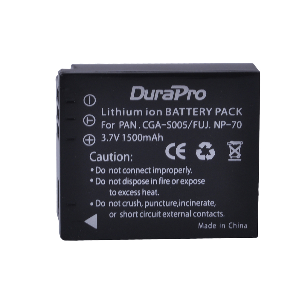 1pc CGA-S005 CGA S005 Battery for Panasonic <font><b>Lumix</b></font> DMW-BCC12 DMC-LX1 LX2 <font><b>LX3</b></font> FX3 BCC12 For FUJI NP-70 NP 70 Camera Battery image