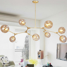 Nordic Glass Led Pendant Light for Dining Room Kitchen Hanglamp Light Designer Hanging Lamp Decor Home Luminaire Lampara Fixture