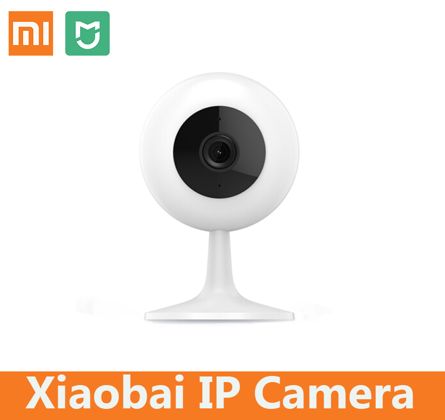 Xiaomi mijia chuangmi xiaobai ip camera HD 720p wireless wifi two way audio smart intelligent sevalliance baby home monitor
