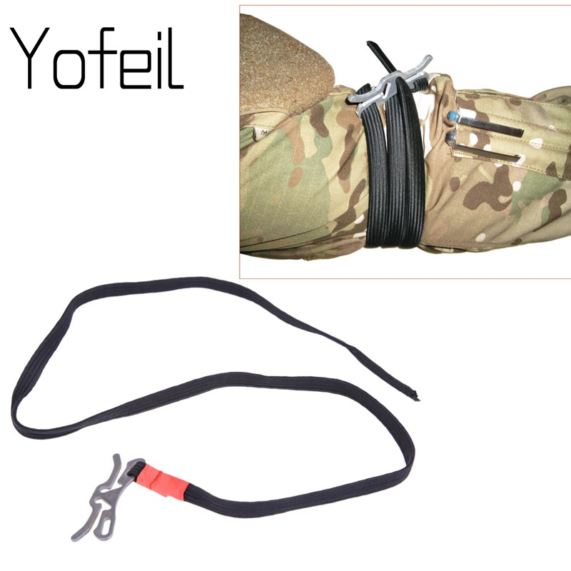 Military Regulation Fast Tourniquet Stop Poison Belt Single Handed Operation Light Weight EDC Outdoor Survival Gear Equipment