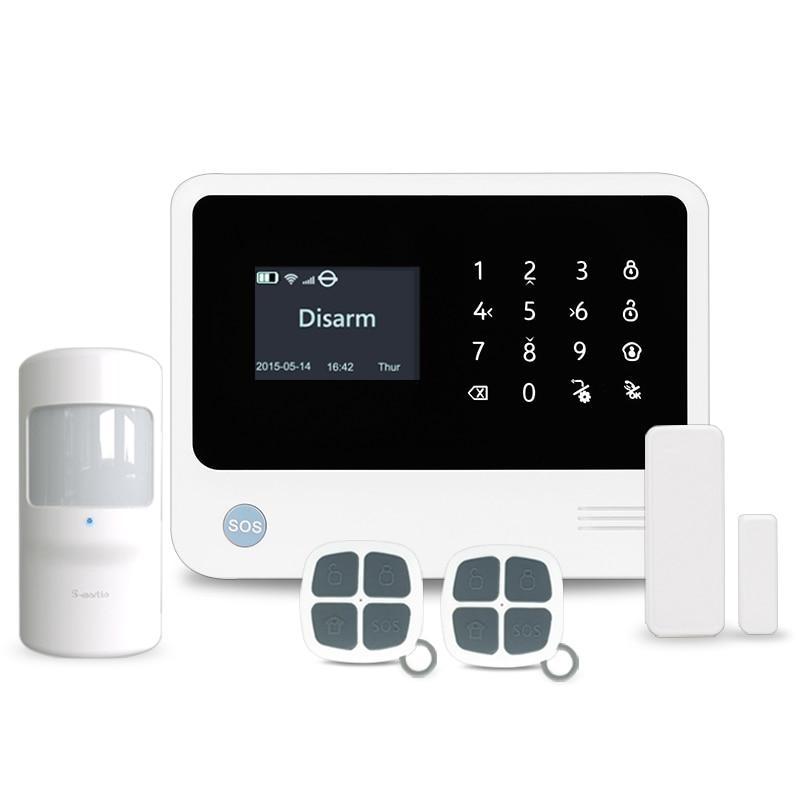 3G Wifi alarm system  G90B plus 3g wifi home security burglar alarm Android/ IOS APP control home alarm mobile control alarm