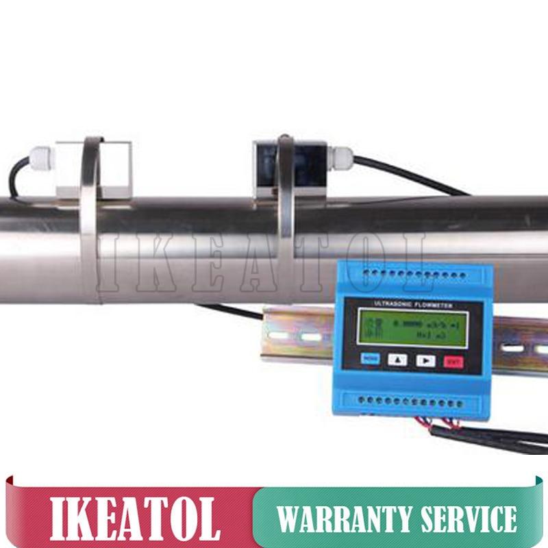 Misuratore di portata per acqua digitale TUF-2000M Ultrasonic - Strumenti di misura - Fotografia 3