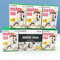 20/caja de fujifilm instax mini film blanco borde 120 unids hoja para instax mini 7 s 8 25 50 90 SP1 Cámara HECHA EN JAPÓN w/Gif Libre