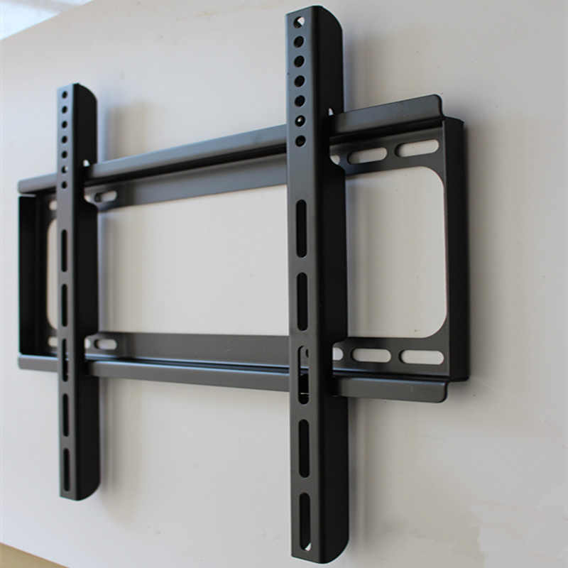 Universal TV Wall Mount Bracket Adjustable Pallet Fixed Flat Panel TV Stand  Holder for Most 14 ~ 70 Inch HDTV Flat Panel TV
